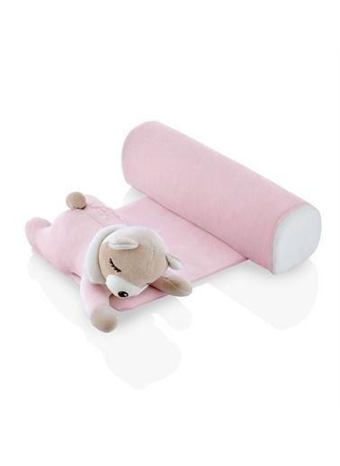 BabyJem Babyjem Güvenli Uyku Yastığı Ayıcık  Pembe